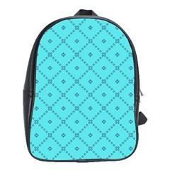 Pattern Background Texture School Bags (xl)