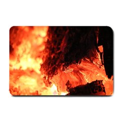 Fire Log Heat Texture Small Doormat