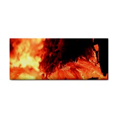 Fire Log Heat Texture Cosmetic Storage Cases