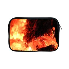 Fire Log Heat Texture Apple Ipad Mini Zipper Cases