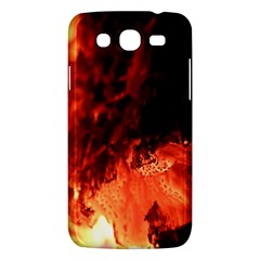 Fire Log Heat Texture Samsung Galaxy Mega 5 8 I9152 Hardshell Case  by Nexatart