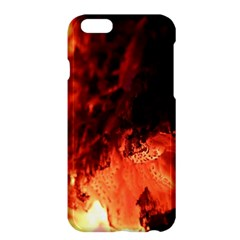 Fire Log Heat Texture Apple Iphone 6 Plus/6s Plus Hardshell Case by Nexatart