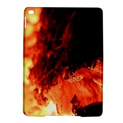 Fire Log Heat Texture Ipad Air 2 Hardshell Cases by Nexatart