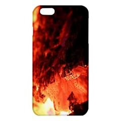 Fire Log Heat Texture Iphone 6 Plus/6s Plus Tpu Case