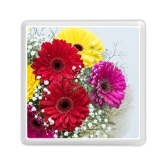 Flowers Gerbera Floral Spring Memory Card Reader (square)  by Nexatart
