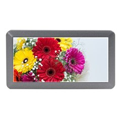 Flowers Gerbera Floral Spring Memory Card Reader (mini)