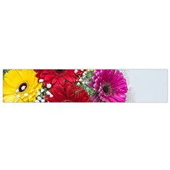 Flowers Gerbera Floral Spring Flano Scarf (small)
