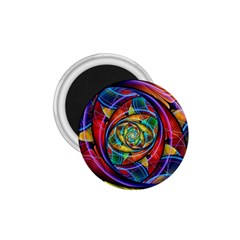 Eye Of The Rainbow 1 75  Magnets by WolfepawFractals