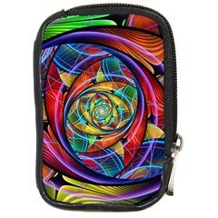 Eye Of The Rainbow Compact Camera Cases by WolfepawFractals