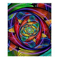 Eye Of The Rainbow Shower Curtain 60  X 72  (medium)  by WolfepawFractals