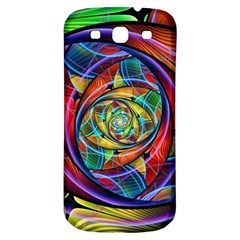 Eye Of The Rainbow Samsung Galaxy S3 S Iii Classic Hardshell Back Case by WolfepawFractals