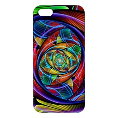 Eye Of The Rainbow Iphone 5s/ Se Premium Hardshell Case by WolfepawFractals