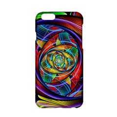 Eye Of The Rainbow Apple Iphone 6/6s Hardshell Case by WolfepawFractals