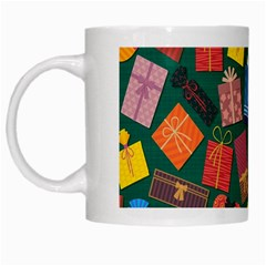 Presents Gifts Background Colorful White Mugs by Nexatart