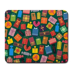 Presents Gifts Background Colorful Large Mousepads by Nexatart