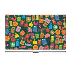 Presents Gifts Background Colorful Business Card Holders by Nexatart