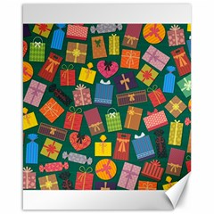 Presents Gifts Background Colorful Canvas 16  X 20   by Nexatart