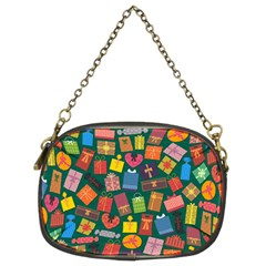 Presents Gifts Background Colorful Chain Purses (two Sides)