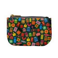 Presents Gifts Background Colorful Mini Coin Purses by Nexatart