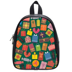 Presents Gifts Background Colorful School Bags (small)