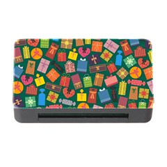 Presents Gifts Background Colorful Memory Card Reader With Cf by Nexatart