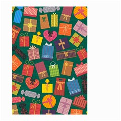 Presents Gifts Background Colorful Small Garden Flag (two Sides) by Nexatart