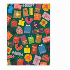 Presents Gifts Background Colorful Large Garden Flag (two Sides) by Nexatart