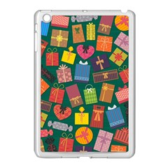 Presents Gifts Background Colorful Apple Ipad Mini Case (white) by Nexatart