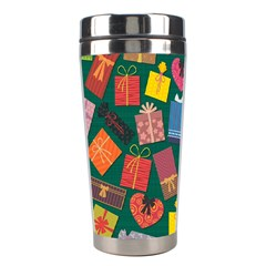 Presents Gifts Background Colorful Stainless Steel Travel Tumblers by Nexatart
