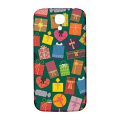 Presents Gifts Background Colorful Samsung Galaxy S4 I9500/i9505  Hardshell Back Case