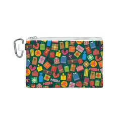 Presents Gifts Background Colorful Canvas Cosmetic Bag (s) by Nexatart