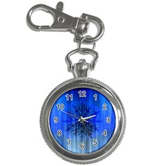 Background Christmas Star Key Chain Watches