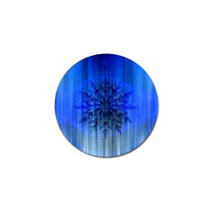 Background Christmas Star Golf Ball Marker by Nexatart