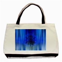 Background Christmas Star Basic Tote Bag by Nexatart