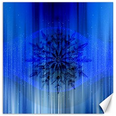 Background Christmas Star Canvas 16  X 16