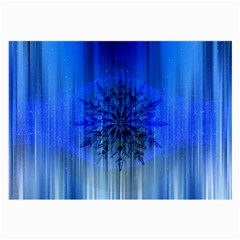 Background Christmas Star Large Glasses Cloth (2 Side) by Nexatart