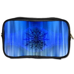 Background Christmas Star Toiletries Bags