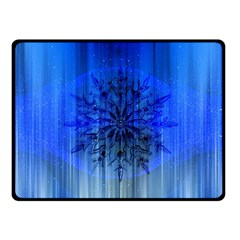 Background Christmas Star Fleece Blanket (small) by Nexatart