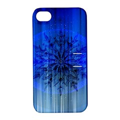 Background Christmas Star Apple Iphone 4/4s Hardshell Case With Stand by Nexatart
