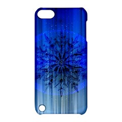 Background Christmas Star Apple Ipod Touch 5 Hardshell Case With Stand by Nexatart