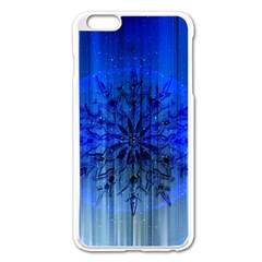 Background Christmas Star Apple Iphone 6 Plus/6s Plus Enamel White Case by Nexatart