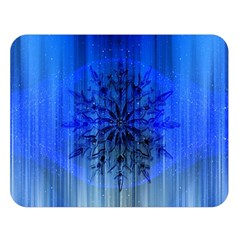 Background Christmas Star Double Sided Flano Blanket (large)  by Nexatart