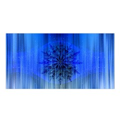 Background Christmas Star Satin Shawl by Nexatart