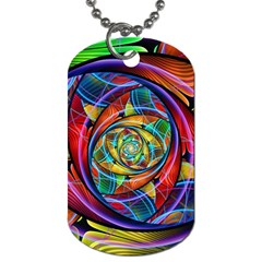 Eye of the Rainbow Dog Tag (One Side)