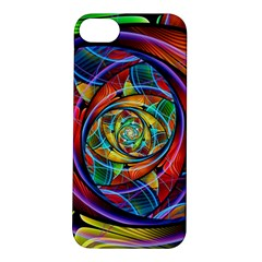 Eye Of The Rainbow Apple Iphone 5s/ Se Hardshell Case by WolfepawFractals