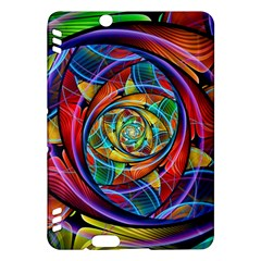 Eye Of The Rainbow Kindle Fire Hdx Hardshell Case by WolfepawFractals