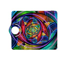 Eye Of The Rainbow Kindle Fire Hdx 8 9  Flip 360 Case by WolfepawFractals