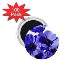 Poppy Blossom Bloom Summer 1 75  Magnets (100 Pack)  by Nexatart