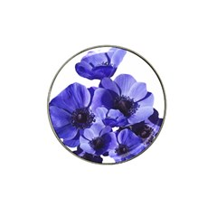 Poppy Blossom Bloom Summer Hat Clip Ball Marker