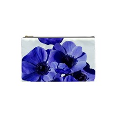 Poppy Blossom Bloom Summer Cosmetic Bag (small)  by Nexatart